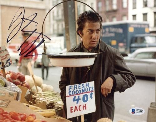 "Dustin Hoffman Autographed 8"" x 10"" Midnight Cowboy: At Shop Photograph - Beckett COA"