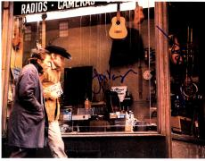 Dustin Hoffman Jon Voight Autographed 11x14 Midnight Cowboy Photo AFTAL UACC RD