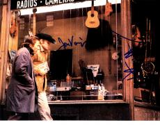 Dustin Hoffman Jon Voight Signed 11x14 Midnight Cowboy Photo AFTAL UACC RD COA
