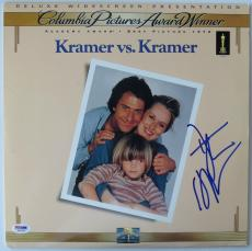 Dustin Hoffman Signed Kramer Authentic Laser Disc Cover (PSA/DNA) #V27260