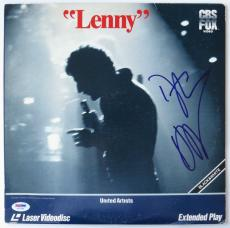 Dustin Hoffman Signed Lenny Authentic Laser Disc Cover (PSA/DNA) #V27258