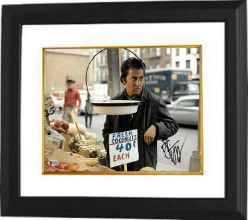 Dustin Hoffman signed Midnight Cowboy 11x14 Photo Custom Framed (horizontal)- Beckett Holo #C65674