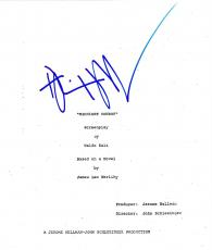 Dustin Hoffman Signed Midnight Cowboy 120 Page Script Authentic Auto Coa