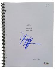 """Dustin Hoffman Signed """"Rain Man"""" Full Movie Script Beckett"""