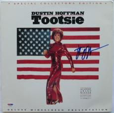 Dustin Hoffman Signed Tootsie Authentic Auto Laserdisc Cover PSA/DNA #W71521