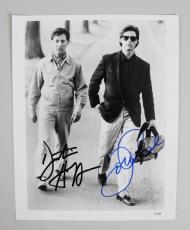 Dustin Hoffman & Tom Cruise Signed Rain Man Photo