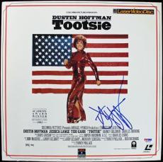 Dustin HOFfman Tootsie Signed Laserdisc Cover PSA/DNA #J00702