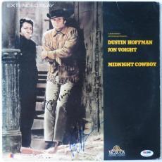 Dustin Hoffman/Jon Voight Signed Midnight Cowboy Laser Disc PSA/DNA #U72621
