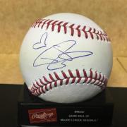 Dustin Lynch Country Music Star M.l. Signed Baseball W/coa