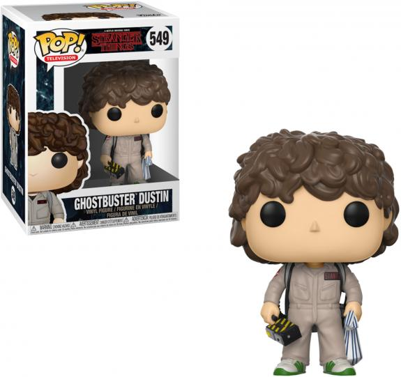 Dustin Stranger Things #549 Ghostbuster Funko Pop!