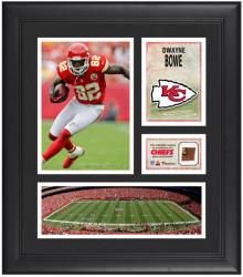 "Dwayne Bowe Kansas City Chiefs Framed 15"" x 17"" Collage with Game-Used Football"