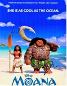 Dwayne Johnson and Auli'i Cravalho Signed - Autographed MOANA 11x14 inch Photo - Guaranteed to pass PSA/DNA or JSA