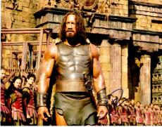 Dwayne Johnson Signed - Autographed Hercules 11x14 inch Photo - Guaranteed to pass PSA or JSA - The Rock