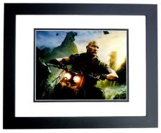 Dwayne Johnson Signed - Autographed Jumanji: Welcome to the Jungle 11x14 inch Photo BLACK CUSTOM FRAME - Guaranteed to pass PSA or JSA