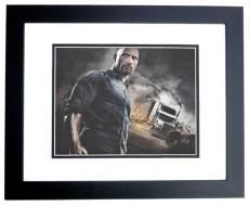 Dwayne Johnson Signed - Autographed The Fast and the Furious 8x10 inch Photo BLACK CUSTOM FRAME - Guaranteed to pass PSA or JSA - The Rock