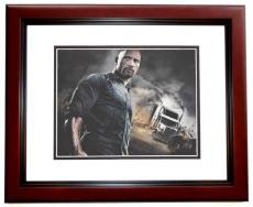 Dwayne Johnson Signed - Autographed The Fast and the Furious 8x10 inch Photo MAHOGANY CUSTOM FRAME - Guaranteed to pass PSA or JSA - The Rock
