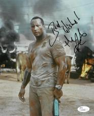 Dwayne Johnson Signed The Rundown Authentic Autographed 8x10 Photo JSA #S04568