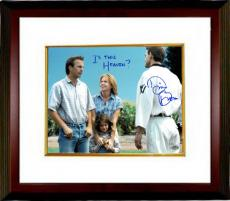 """Dwier Brown signed Field of Dreams 11x14 Photo Custom Framed """"Is This Heaven?"""" (with Kevin Costner/John Kinsella)"""