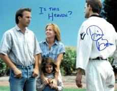 """Dwier Brown signed Field of Dreams 11x14 Photo """"Is This Heaven?"""" (with Kevin Costner/John Kinsella)"""