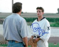 Dwier Brown signed Field of Dreams 8x10 Photo (with Kevin Costner/John Kinsella)