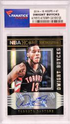 Dwight Buycks Toronto Raptors Autographed 2014-15 Hoops #47 Card