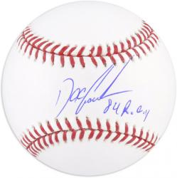 "Dwight ""Doc"" Gooden Autographed Baseball ""84 ROY"" Inscription - Mounted Memories"