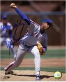 "Dwight Doc Gooden New York Mets Autographed 8"" x 10"" Photograph with Happy Holidays Inscription"
