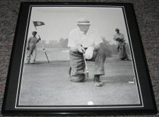 Dwight Eisenhower Golfing 1953 Framed 12x12 Poster Photo