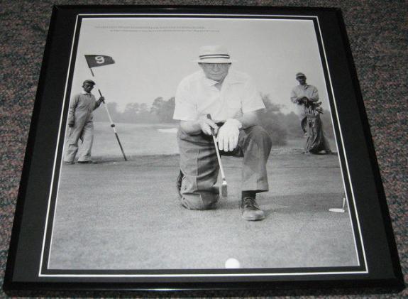 Dwight Eisenhower Golfing 1953 Framed 12x12 Poster Photo