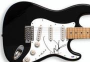 Dwight Yoakam Autographed Guitar PSA UACC RD COA AFTAL