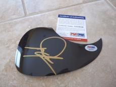Dwight Yoakam Signed Autographed Acoustic Guitar Pickguard PSA Certified #2
