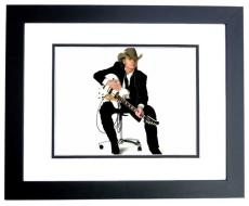 Dwight Yoakam Signed - Autographed Country Music Singer - Actor 11x14 inch Photo BLACK CUSTOM FRAME - Guaranteed to pass PSA or JSA