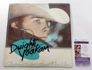 Dwight Yoakan Signed LP Record Album Guitars Cadillacs Etc. Etc. w/ JSA AUTO