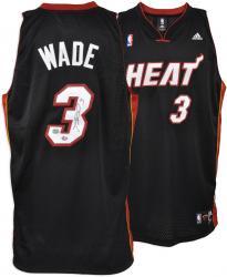 Dwyane Wade Miami Heat Autographed adidas Swingman Jersey