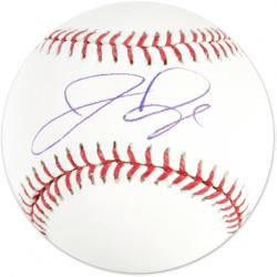 Jermaine Dye Autographed Baseball - Mounted Memories