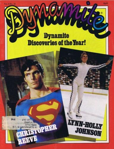 Dynamite Magazine Vol 2 #10 1979 Christopher Reeve Superman Lynn Holly Johnson