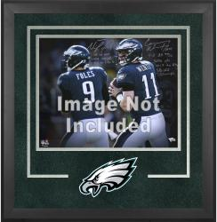 Philadelphia Eagles Deluxe 16'' x 20'' Horizontal Photograph Frame with Team Logo - Mounted Memories