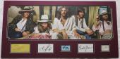 The Eagles Multi-Signed Frey/Henley Autographed Matted Display +3 PSA #AC08586