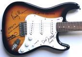 Eagles signed Fender guitar joe walsh randy meisner don felder autograph psa dna