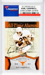 Earl Campbell Autographed University Of Texas Longhorns 2011 Upper Deck #ATA-EC Card