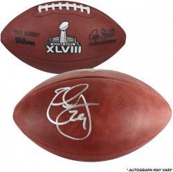 Earl Thomas Seattle Seahawks Autographed Super Bowl XLVIII Pro Football