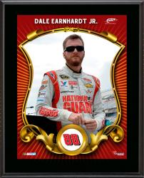 "Dale Earnhardt Jr. Sublimated 10.5"" x 13"" Stylized Plaque"