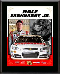 "Dale Earnhardt Jr. Sublimated 10.5"" x 13"" Stylized Composite Plaque"