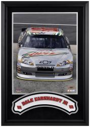 "Dale Earnhardt, Jr. Framed Iconic 16"" x 20"" Photo with Banner - Mounted Memories"