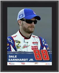 "Dale Earnhardt Jr. Sublimated 10.5"" x 13"" Plaque - Mounted Memories"