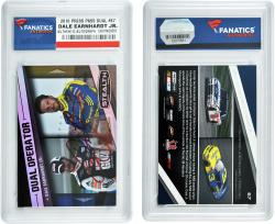 Dale Earnhardt, Jr. Autographed 2010 Press Pass Stealth Dual #67 Card - Mounted Memories