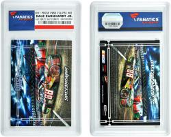 Dale Earnhardt, Jr. Autographed 2011 Press Pass Eclipse #83 Card - Mounted Memories