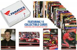 Dale Earnhardt, Jr. Collectible Lot of 15 NASCAR Trading Cards - Mounted Memories