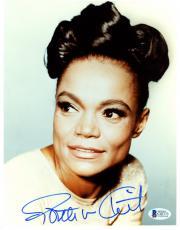 "Eartha Kitt Autographed 8""x 10"" Catwoman Photograph - Beckett COA"