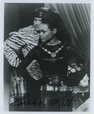 Eartha Kitt Signed Autographed The Catwoman Bw Batman Photo